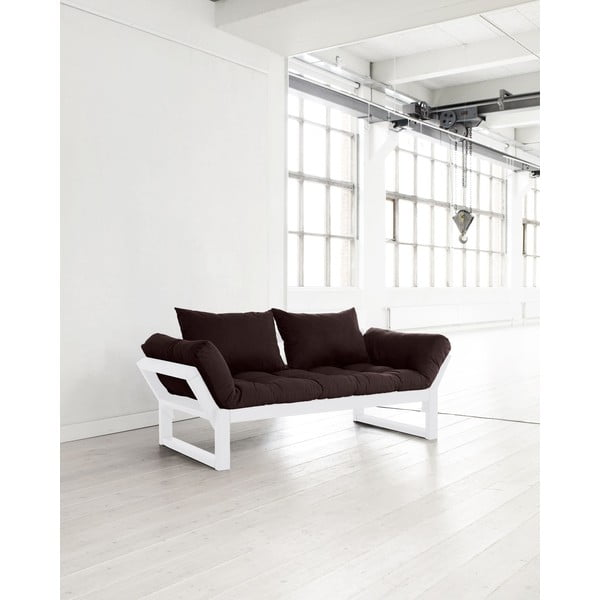 Sofa Karup Edge White/Brown