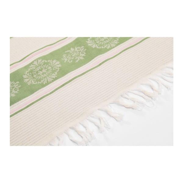 Ręcznik hammam Loincloth Smeh Green, 80x170 cm