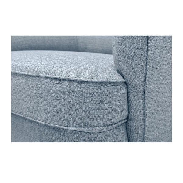 Srebrny fotel Vivonita Fifties