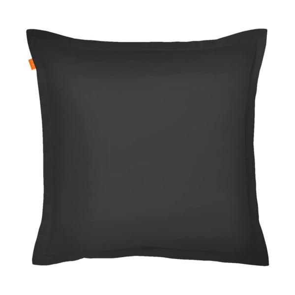 Czarna poszewka na poduszkę HF Living Basic, 60x60 cm