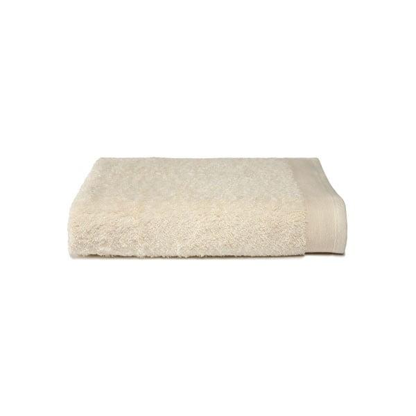 Kremowy ręcznik Ekkelboom, 50x100 cm