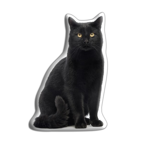 Poduszeczka Adorable Cushions Czarny kot