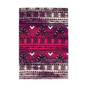 Dywan Aztec 491 fioletowy/fuksja, 80x150 cm