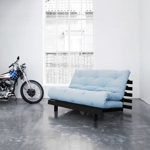 Sofa rozkładana Karup Roots Wenge/Celeste