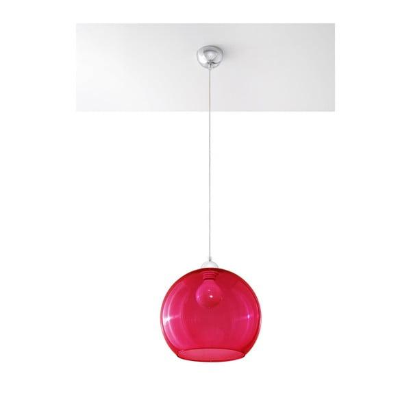 Czerwona lampa wisząca Nice Lamps Bilbao