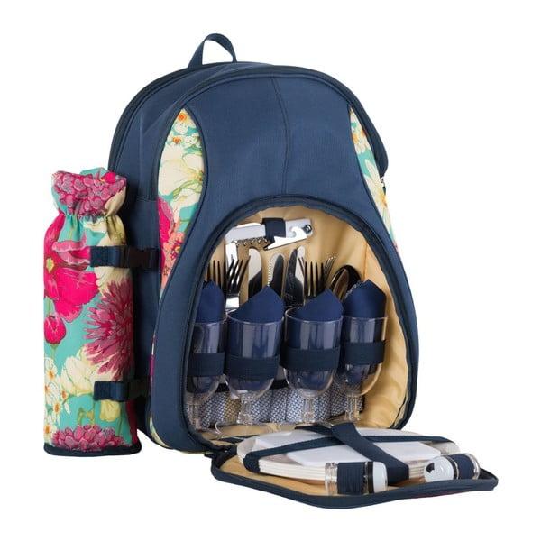 Plecak piknikowy Floral dla 4 osób