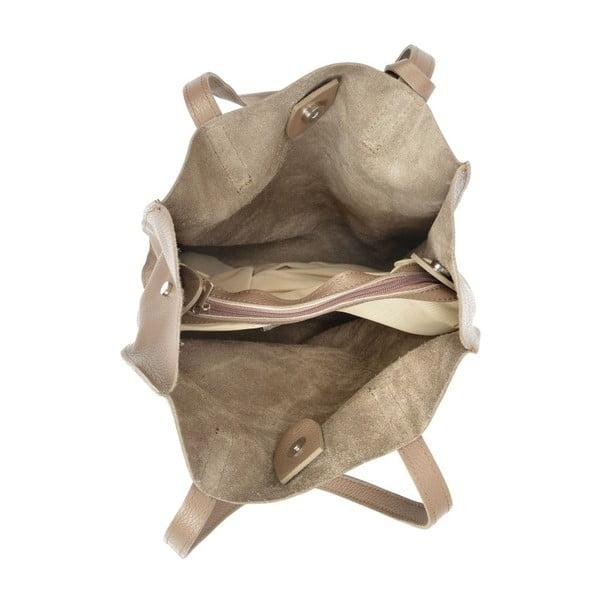 Karmelowa skórzana torebka Isabella Rhea Clariss