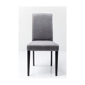 Szare krzesło Kare Design Pedro