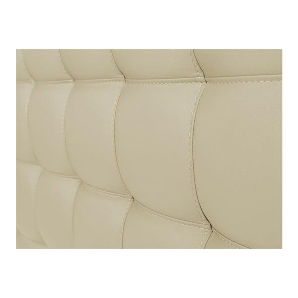 Kremowy zagłówek łóżka Windsor & Co Sofas Deimos, 180x120 cm