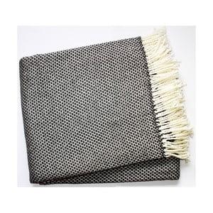 Koc Zen Plaid Dark Grey, 140x180 cm