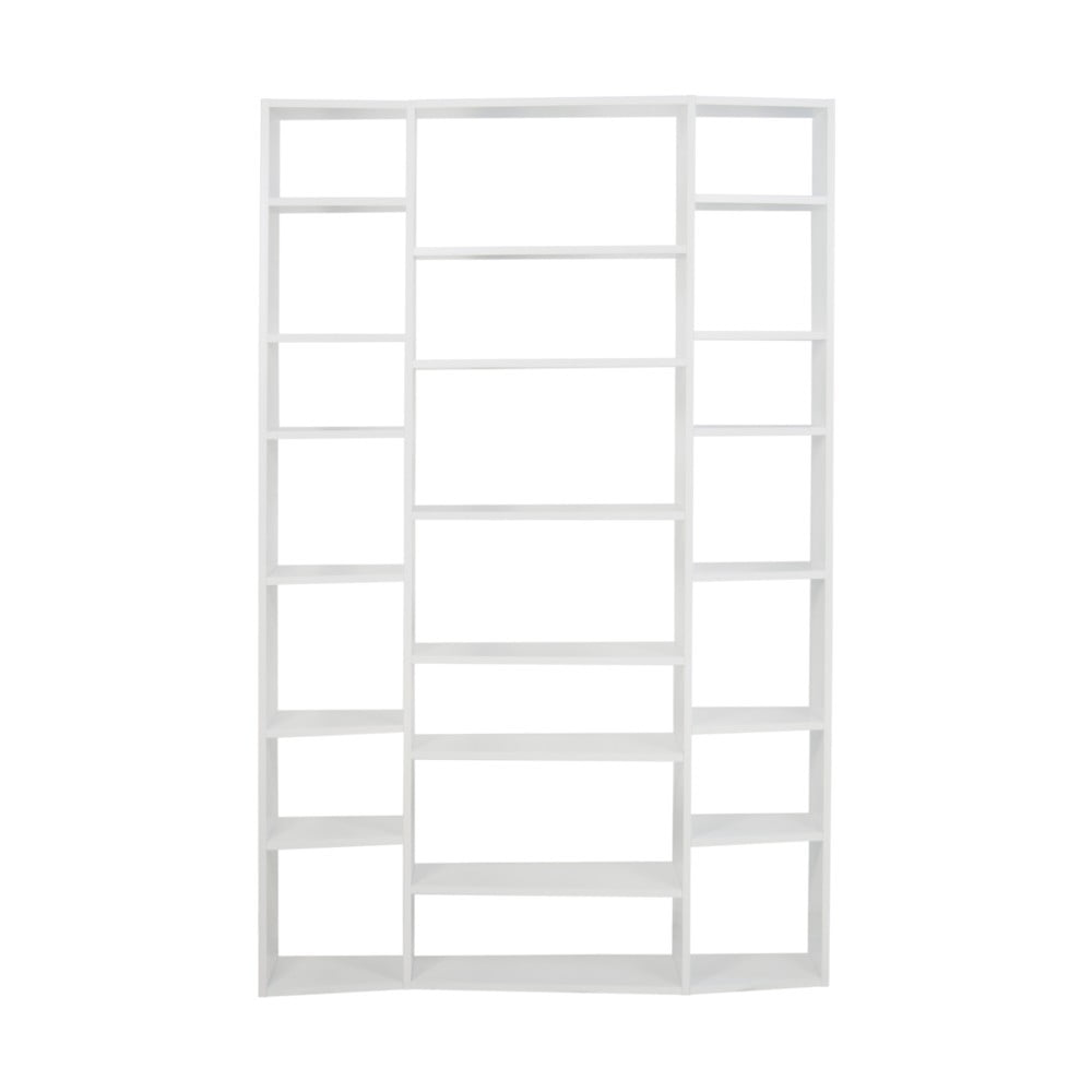 Biały regał TemaHome Valsa, szer. 144 cm