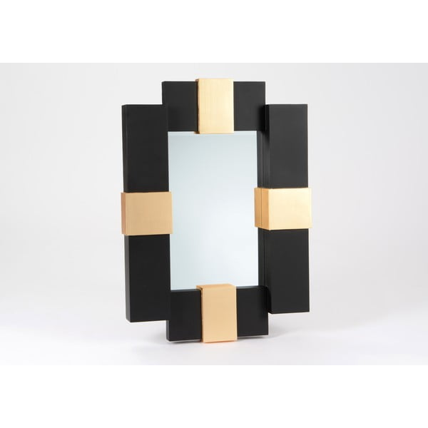 Lustro Black and Gold, 90 cm