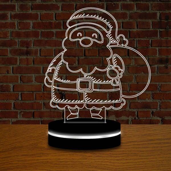 Lampa z efektem 3D Christmas no. 5
