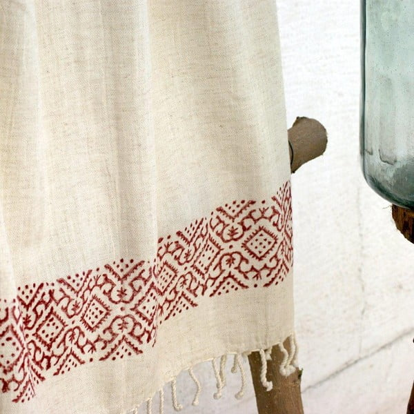 Ręcznik hamam Cloth Claret Red, 90x180 cm