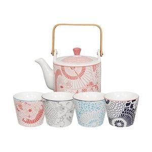 Zestaw 5-częściowy do herbaty Tokyo Design Studio Baobab
