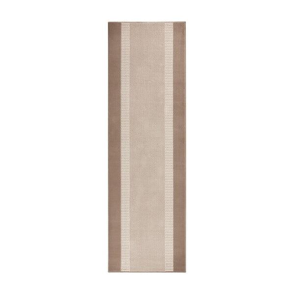 Dywan Basic, 80x500 cm, beżowy