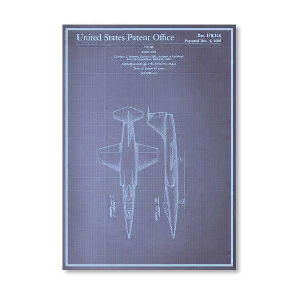Plakat Airplane, 30x42 cm