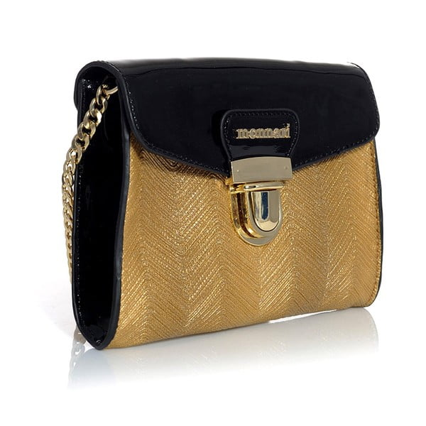 Torebka Monnari Satchel Black/Gold
