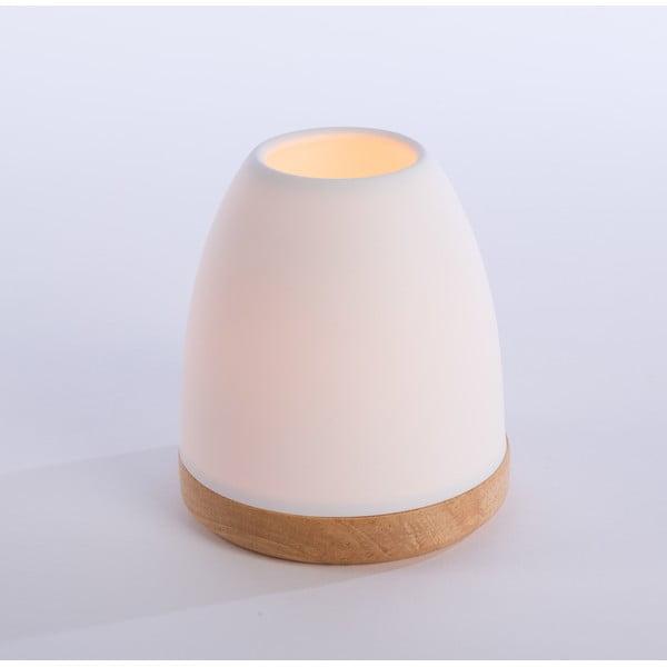 Świecznik Hildra 14 cm, biały