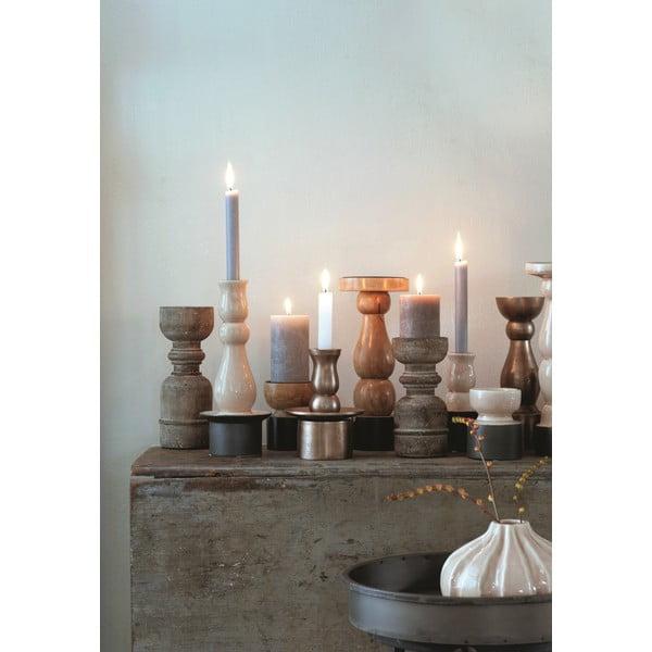 Wazon ceramiczny Marlena Ochre, 15x11 cm