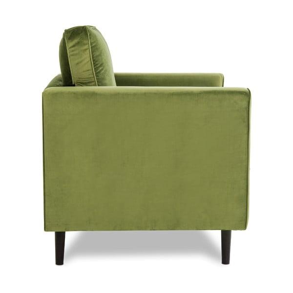 Zielony fotel VIVONITA Portobello