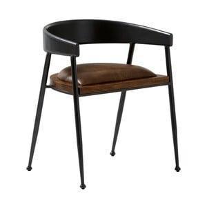 Krzesło skórzane Fuhrhome Sydney Patina