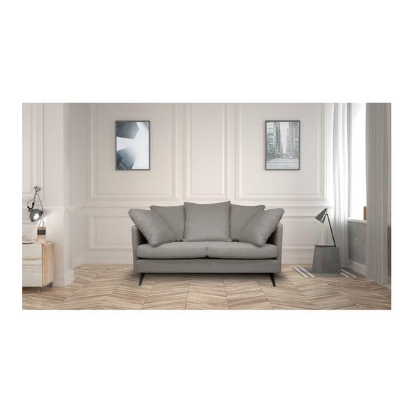 Jasnoszara sofa 2-osobowa Helga Interiors Victoria