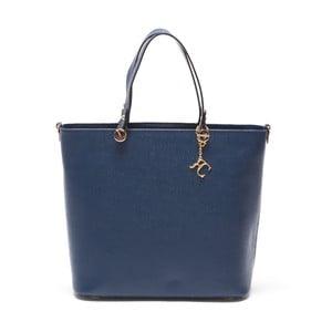Skórzana torebka Damien 432 Blu