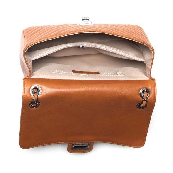 Skórzana torebka  Anna Luchini 2118 Cognac
