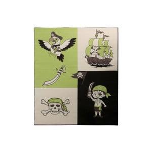 Zielony dywan Hanse Home Pirate, 140x200 cm