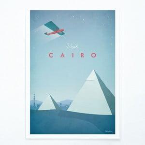 Plakat Travelposter Cairo, A2