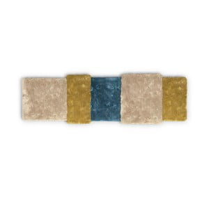Brązowoniebieski dywan EMKO Over Stripe