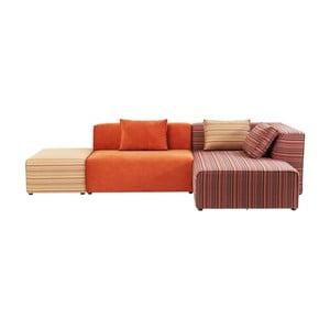 Sofa z szezlongiem po prawej stronie Kare Design Infinity Merci