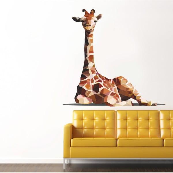 Naklejka na ścianę Żyrafa, 90x120 cm
