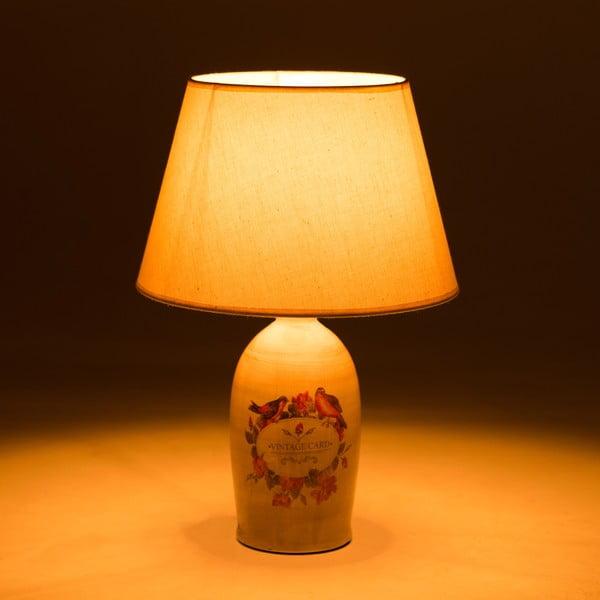 Ceramiczna lampa stołowa Birds