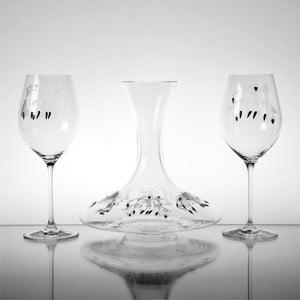 Zestaw do dekantacji wina Bachus