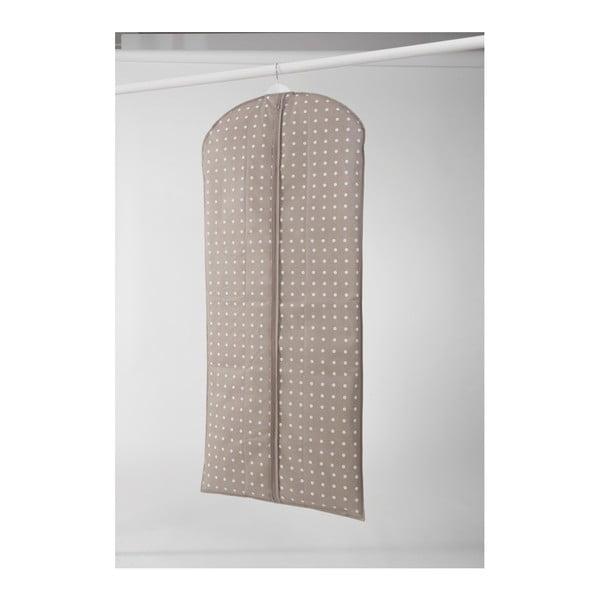 Duży pokrowiec na ubranie Compactor Dots, 137 cm