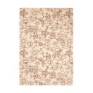 Brązowy dywan dziecięcy Zala Living Bambini, 140x200 cm