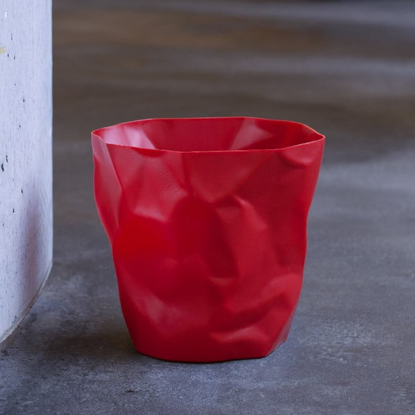 Czerwony kosz na śmieci Essey Bin Bin Red