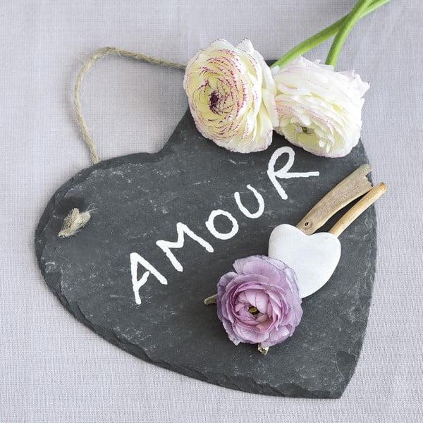 Szklany obraz Amour, 20x20 cm
