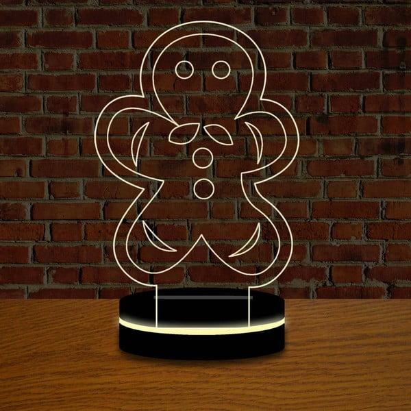 Lampa z efektem 3D Christmas no. 13