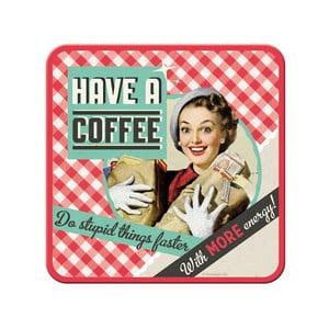 Zestaw 5 podstawek Have a Coffee