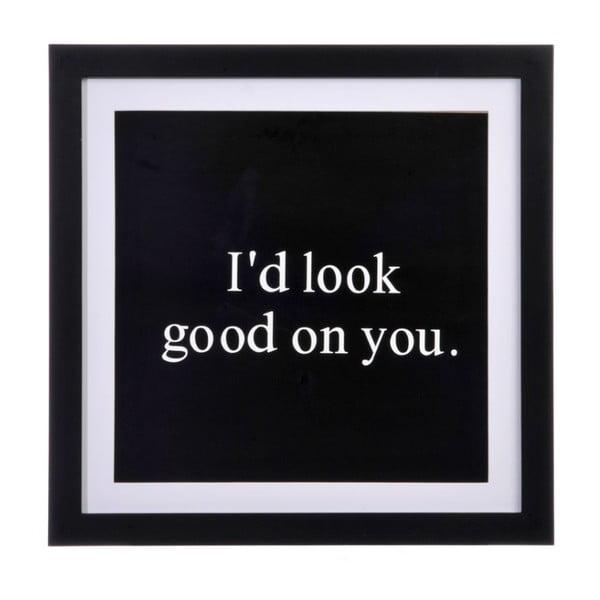 Obraz Look Good, 39x39x1,5 cm