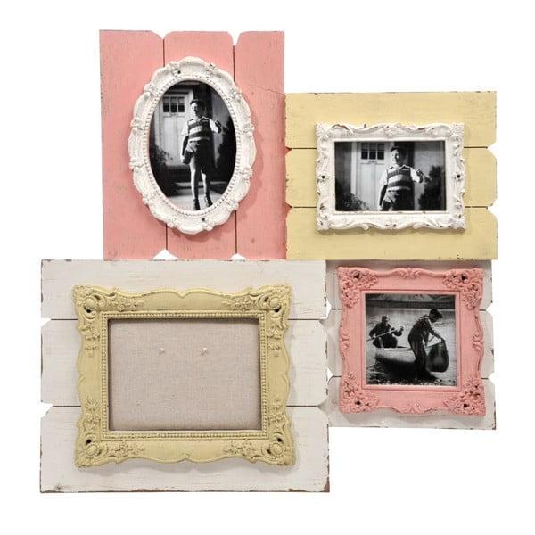 Ramki na 4 zdjęcia Pele Mele