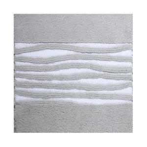 Dywanik łazienkowy Morgan Silver Grey, 60x60 cm