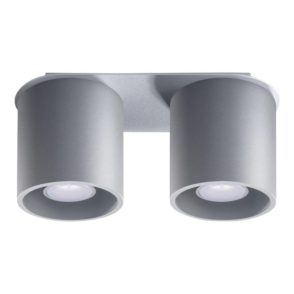 Szara lampa sufitowa Nice Lamps Roda