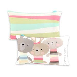 Poszewka na poduszkę Little Rabbits, 50x30 cm