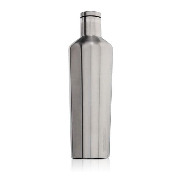 Srebrna butelka termiczna Corkcicle Canteen, 740 ml