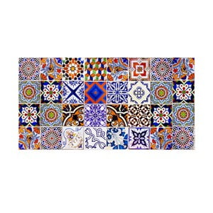 Winylowy dywan Collage, 50x100 cm
