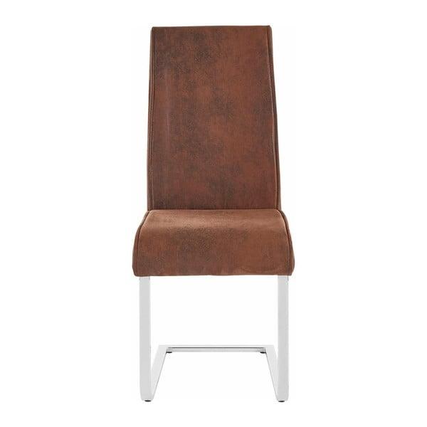 Zestaw 2 brązowych krzeseł Støraa Manto